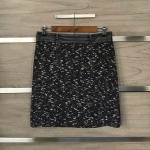 Ann Taylor Zipper Skirt
